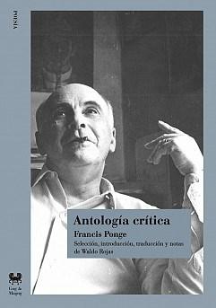 Papel ANTOLOGIA CRITICA (PONGE)