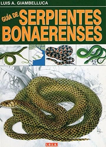 Papel Guia De Serpientes Bonaerenses