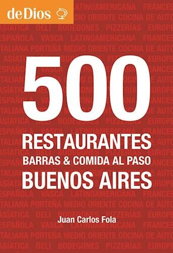 Libro 500 Restaurantes De Buenos Aires