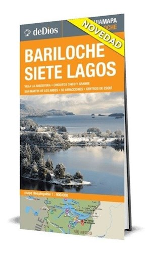 Libro Bariloche Y Siete Lagos  Guia Mapa