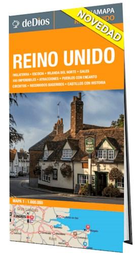 Libro Reino Unido  Guia Mapa