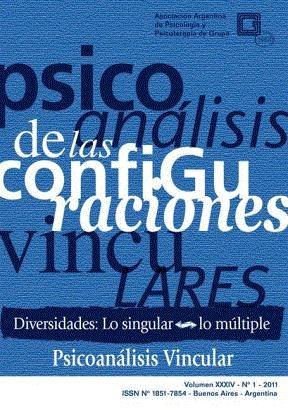 E-book PSICOANÁLISIS DE LAS CONFIGURACIONES VINCULARES  Diversidades: lo singular-lo múltiple