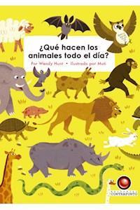 Papel ¿Qué Hacen Los Animales Todo El Día?