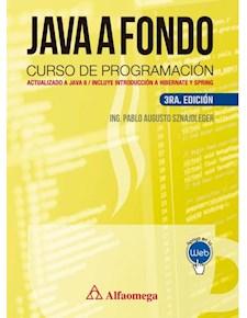 Papel Java A Fondo Curso De Programación 3Ed