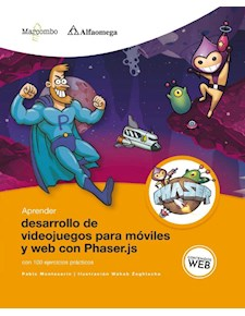 Papel Aprender Desarrollo De Videojuegos Para Móviles Y Web Con Phaser.Js Con 100 Ejercicios Prácticos