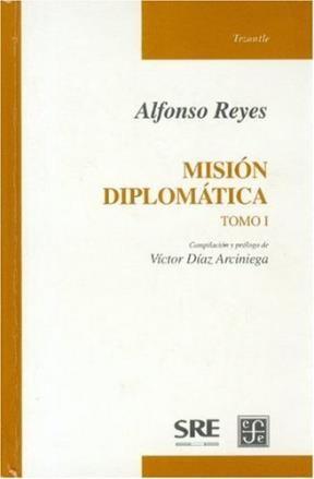 Papel MISION DIPLOMATICA (TOMO I)