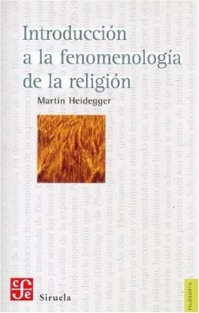 Papel INTRODUCCION A LA FENOMENOLOGIA DE LA RELIGION