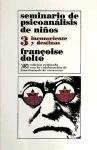 Papel SEMINARIO (3) DE PSICOANALISIS DE NIÑOS