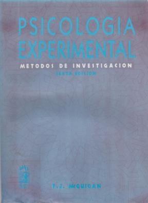 Papel PSICOLOGIA EXPERIMENTAL METODOS DE INVESTIGACION