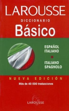 Papel Diccionario Español Italiano Larousse