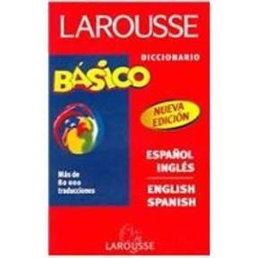 Papel Diccionario Basico Larousse Esp-Ing/Eng-Spa