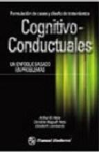 Papel FORMULACION DE CASOS Y DISEÑO COGNITIVO-CONDUCTUALES UN ENFO