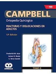 Papel Campbell Ortopedia Quirúrgica, Tomo 6 Ed. Ed.13