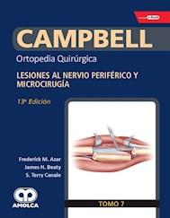 Papel Campbell Ortopedia Quirúrgica, Tomo 7 Ed.13º