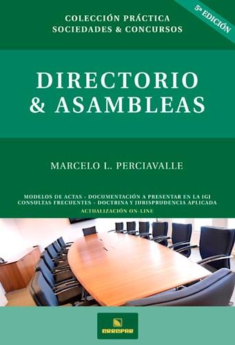 Libro Directorio Y Asambleas