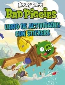Papel ANGRY BIRDS BAD PIGGIES LIBRO DE ACTIVIDADES CON STICKERS (RUSTICA)