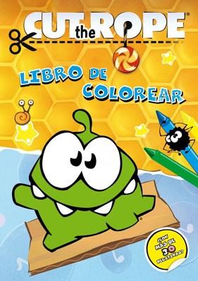 Papel CUT THE ROPE LIBRO DE COLOREAR (CON MAS DE 30 STICKERS)