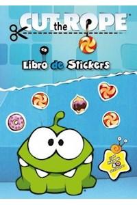 Papel Cut The Rope. Libro De Stickers