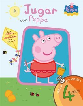 Libro A Jugar Con Peppa 4 Años