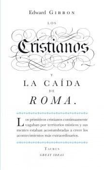Papel CRISTIANOS Y LA CAIDA DE ROMA