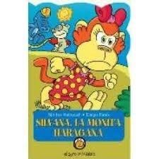 Papel Silvana La Monita Haragana. Colección Animanías