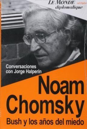Papel Noam Chomsky Bush Y Los Años Del Miedo