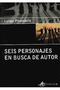 Papel Seis Personajes En Busca Del Autor