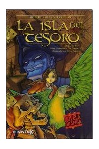 Papel La Isla Del Tesoro - Novela Grafica