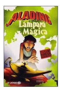 Papel Aladino Y La Lampara Magica - Novela Grafica