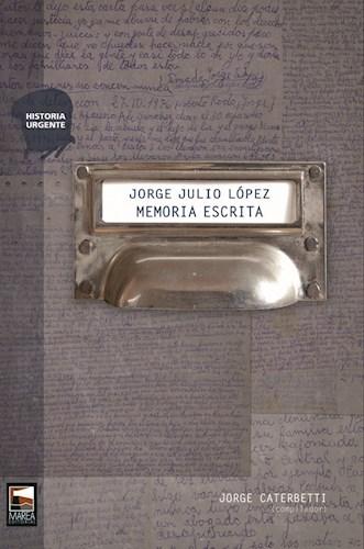 Libro Jorge Julio Lopez