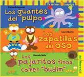 Libro Los Guantes Del Pulpo / Las Zapatillas Del Oso / Los Pajaritos Finos Comen