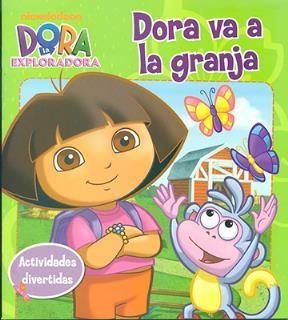Papel Dora Va A La Granja