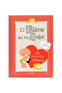 Papel El Libro De Mi Bebé (Rojo)