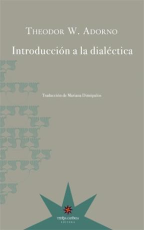 Papel INTRODUCCION A LA DIALECTICA