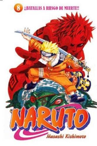 Papel Naruto 8 - Batallas A Riesgo De Muerte