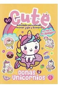 Papel Donas Y Unicornios - So Cute