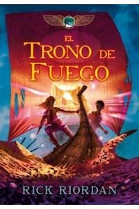 Papel El Trono De Fuego (Las Cronicas De Kane 2)