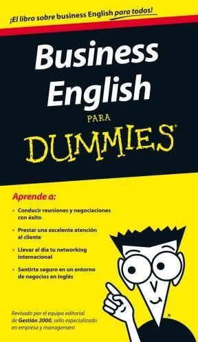 Papel Business English Para Dummies Pk