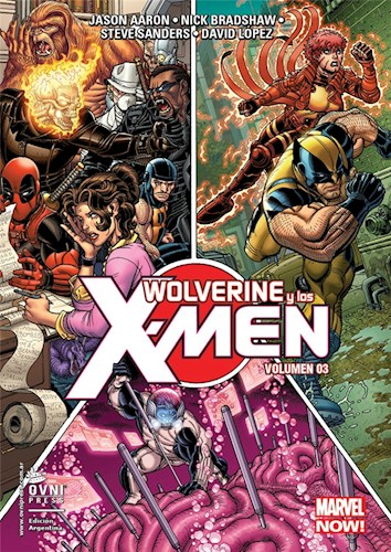 Papel Wolverine Y Los X-Men #03