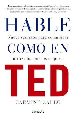 Libro Hable Como En Ted