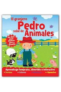 Papel El Granjero Pedro Sabe De Animales - Desliza Gira Y Levanta