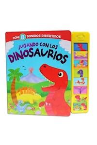 Papel Libro Con 8 Sonidos - Jugando Con Los Dinosaurios