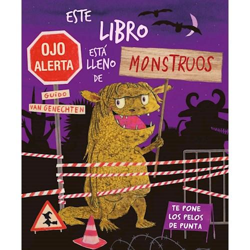 Papel ESTE LIBRO ESÁ LLENO DE MONSTRUOS