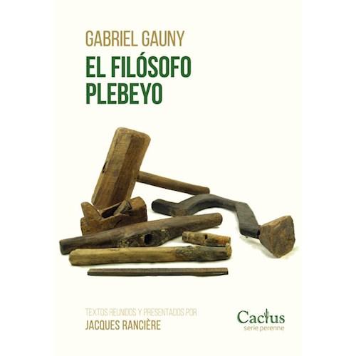 Papel EL FILÓSOFO PLEBEYO