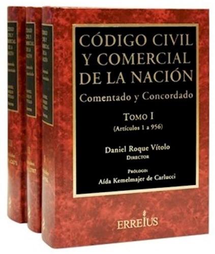 Libro Codigo Civil Y Comercial De La Nacion ( 3 Tomos )