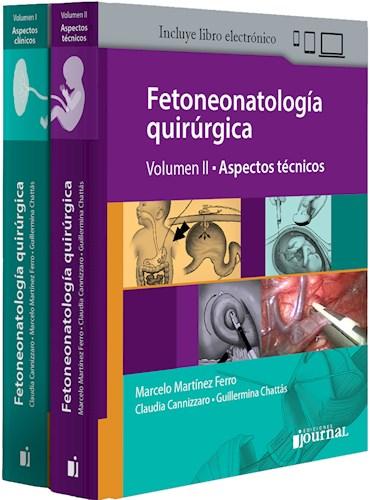 Papel+Digital Fetoneonatología Quirúrgica (Obra Completa 2Vols)
