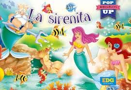 Papel La Sirenita -  Miniclásicos Pop Up