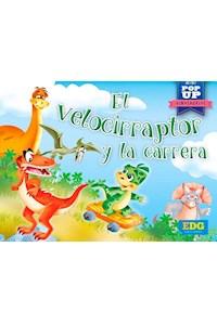 Papel El Velocirraptor Y La Carrera - Mini Pop- Up