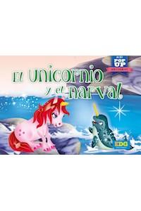Papel El Unicornio Y El Narval - Mini  Pop-Up