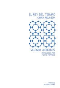 Papel EL REY DEL TIEMPO. OBRA REUNIDA